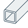 Stainless Steel Square Tubes EN 1.4301